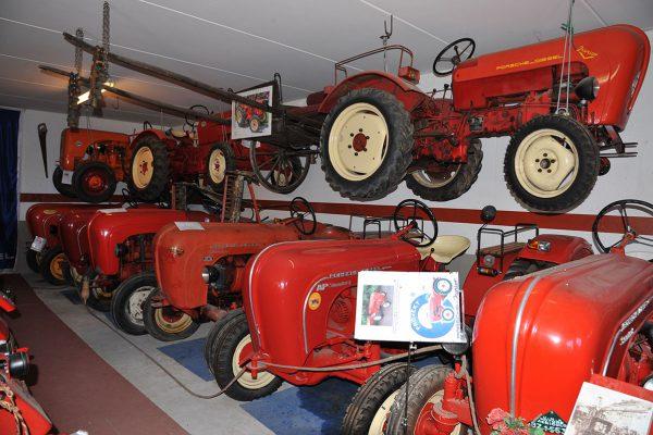 Porsche Traktormuseum Ungericht Kuens