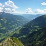 Matatzspitze Blick nach Meran