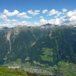 Matatzspitze Blick nach St. Martin