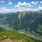 Matatzspitze Blick nach St. Leonhard