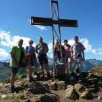 Das Gipfelkreuz der Matatzspitze