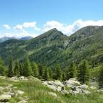 DIe Matatzspitze von der Ferne