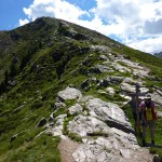 Der letzte Anstieg zur Matatzspitze