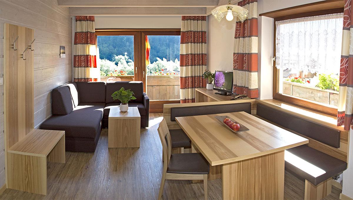 appartement riederhof bilder der neuen ferienwohnungen in passeiertal appartement riederhof. Black Bedroom Furniture Sets. Home Design Ideas