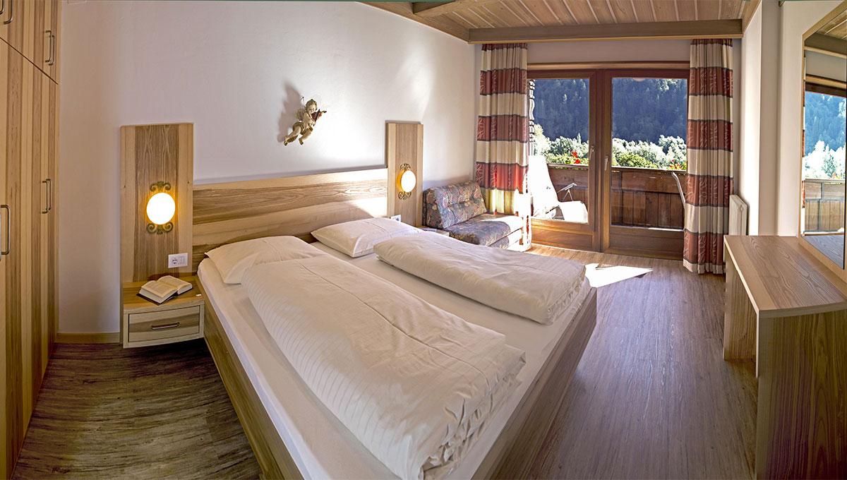 Appartement Riederhof- Ferienwohnung in Passeiertal: Schlafzimmer