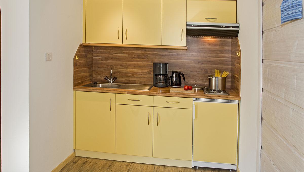 Appartement Riederhof- Ferienwohnung in Passeiertal: Küche