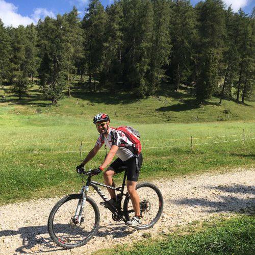 Mountainbike in Meran und Passeiertal