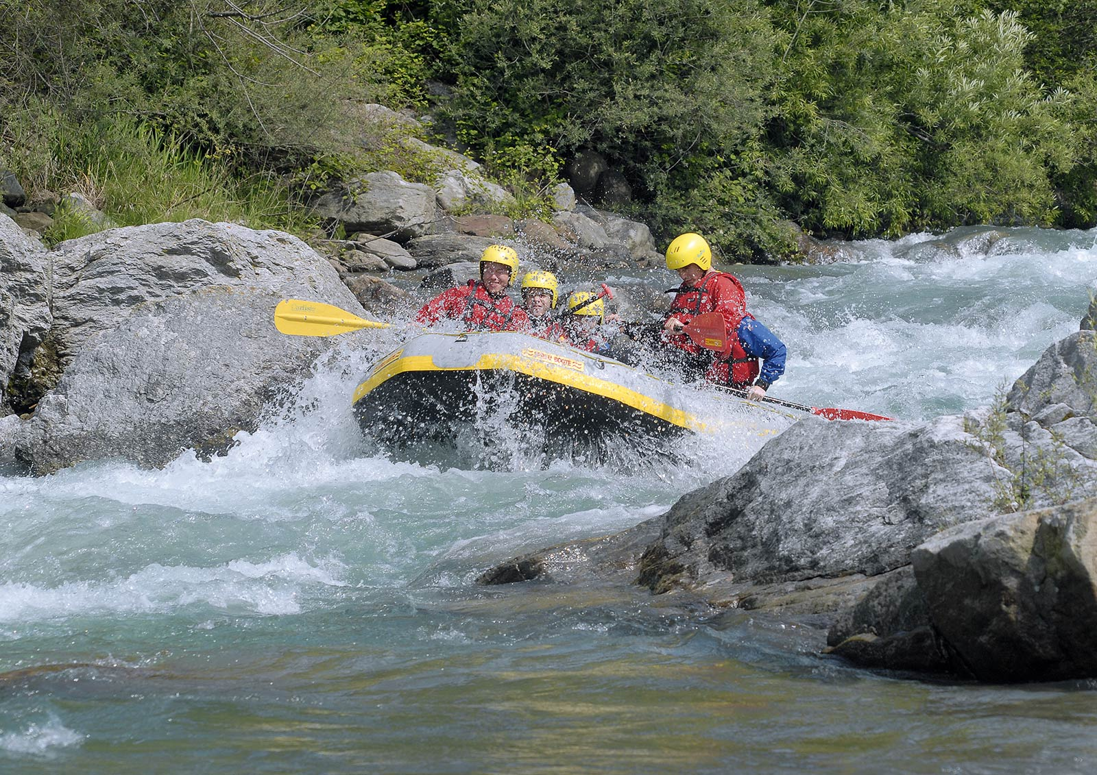 Rafting in Südtirol