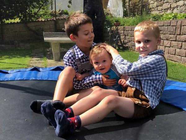 Anton, Johannes und Arthur